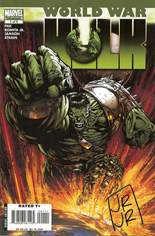 World War Hulk (2007-2008) #1 Variant H: Signed by John Romita, Jr