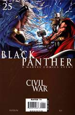 Black Panther (2005-2008) #25 Variant B: Direct Edition