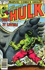 Incredible Hulk (1968-1999) #244 Variant A: Newsstand Edition