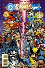 DC Versus Marvel (1996) #1 Variant B: Direct Edition