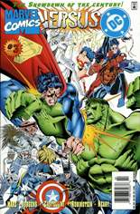 DC Versus Marvel (1996) #3 Variant A: Newsstand Edition