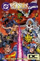 DC Versus Marvel (1996) #4 Variant C: 2nd Printing; DC Universe Logo