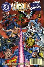 DC Versus Marvel (1996) #4 Variant A: Newsstand Edition