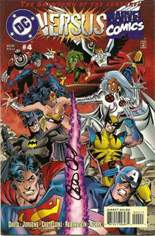 DC Versus Marvel (1996) #4 Variant D: Signed by Peter David