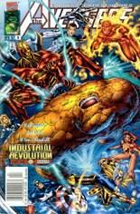 Avengers (1996-1997) #6 Variant A: Newsstand Edition