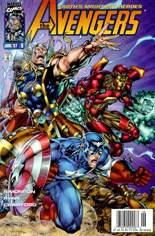 Avengers (1996-1997) #8 Variant A: Newsstand Edition