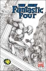 Fantastic Four (1998-2011) #546 Variant B: Wizard World Philadelphia Sketch Variant