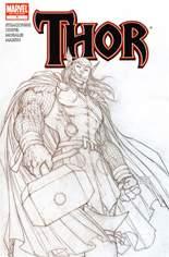 Thor (2007-2011) #1 Variant G: 3rd Printing