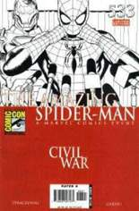 Amazing Spider-Man (1999-2014) #533 Variant B: SDCC Exclusive Sketch Cover