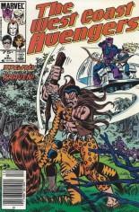 West Coast Avengers (1985-1989) #3 Variant C: 75 Cent Variant