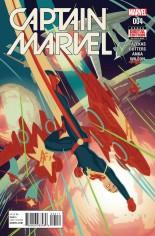 Captain Marvel (2016-2017) #4 Variant A