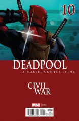 Deadpool (2016-2017) #10 Variant C: Civil War Cover