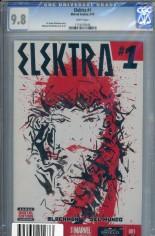 Elektra (2014-2015) #1 Variant F: DF CGC 9.8