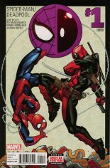 Spider-Man/Deadpool (2016-Present) #1 Variant N: 4th Printing