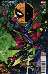 Spider-Man/Deadpool (2016-Present) #2 Variant E: 3rd Printing