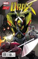 Drax (2016-Present) #6 Variant B: Story Thus Far Cover