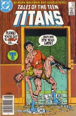 Tales of the Teen Titans (1984-1988) #45 Variant A: Newsstand Edition