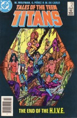 Tales of the Teen Titans (1984-1988) #47 Variant A: Newsstand Edition