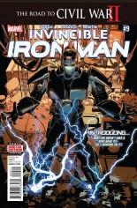 Invincible Iron Man (2015-2016) #9 Variant A