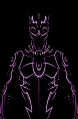 Black Panther (2016-2017) #1 Variant M: Negative Space Exclusive Variant