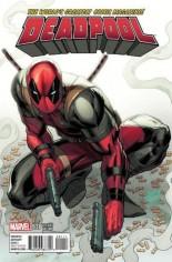 Deadpool (2016-2017) #1 Variant M: Big Red Comics Color Exclusive Variant