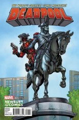 Deadpool (2016-2017) #1 Variant P: Newbury Comics Variant