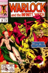 Warlock and the Infinity Watch (1992-1995) #12 Variant B: Direct Edition