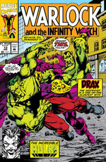 Warlock and the Infinity Watch (1992-1995) #13 Variant B: Direct Edition