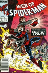 Web of Spider-Man (1985-1995) #41 Variant A: Newsstand Edition
