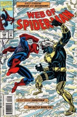 Web of Spider-Man (1985-1995) #108 Variant B: Direct Edition