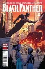 Black Panther (2016-2017) #2 Variant A