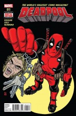 Deadpool (2016-2017) #11 Variant A