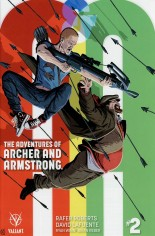 Adventures Of Archer And Armstrong #2 Variant B