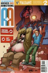 Adventures Of Archer And Armstrong #2 Variant G: 2nd Printing