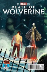 Death of Wolverine (2014) #1 Variant W: Mile High Comics Exclusive Variant Cover