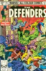 Defenders (1972-1986) #86 Variant C: UK Edition