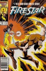 Firestar (1986) #2 Variant C: .95 Cent Canadian Price Variant