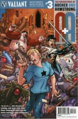 Adventures Of Archer And Armstrong #3 Variant A