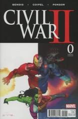 Civil War II (2016) #0 Variant C