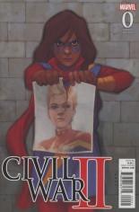 Civil War II (2016) #0 Variant D: Incentive Kamala Variant Cover