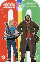 Adventures Of Archer And Armstrong #3 Variant B