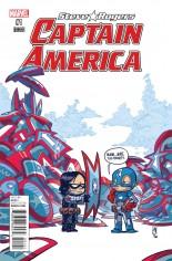 Captain America Steve Rogers #1 Variant C: Baby Cover