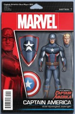 Captain America Steve Rogers #1 Variant D: Action Figure Cover