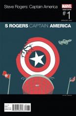 Captain America Steve Rogers #1 Variant E: Marvel Hip-Hop Variant Cover