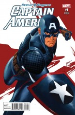 Captain America Steve Rogers #1 Variant H: Incentive Variant Cover