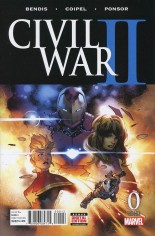 Civil War II (2016) #0 Variant I: 2nd Printing