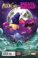 Moon Girl And Devil Dinosaur (2016-Present) #7 Variant A