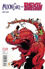 Moon Girl And Devil Dinosaur (2016-Present) #7 Variant C: Incentive Classic Variant Cover