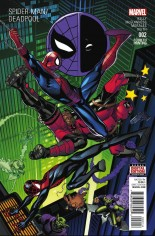 Spider-Man/Deadpool (2016-Present) #2 Variant F: 4th Printing