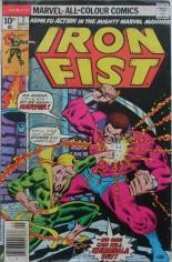 Iron Fist (1975-1977) #7 Variant B: UK Edition